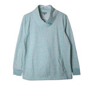 T by Talbots mint green performance sweater M